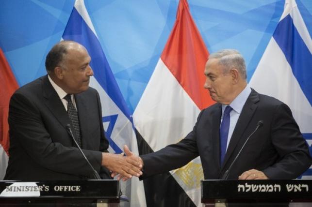 נתניהו בפגישה היסטורית עם שר החוץ המצרי