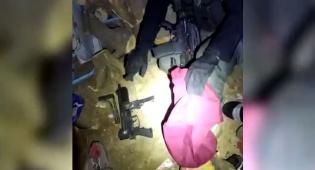 תיעוד מקסדת הלוחם: כך אותר נשק בחברון