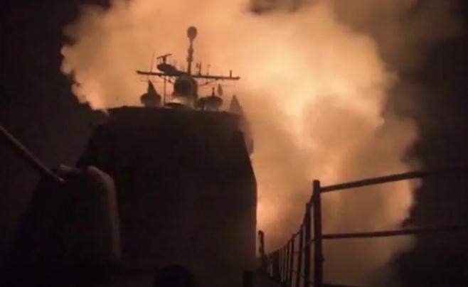מהים ללב דמשק: צפו במתקפה נגד הסורים