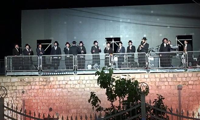 מקהלות באיאן וויז'ניץ בחזרות במירון • צפו