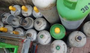 סכנה: 111 בלוני גז פיראטיים הוחרמו בגליל