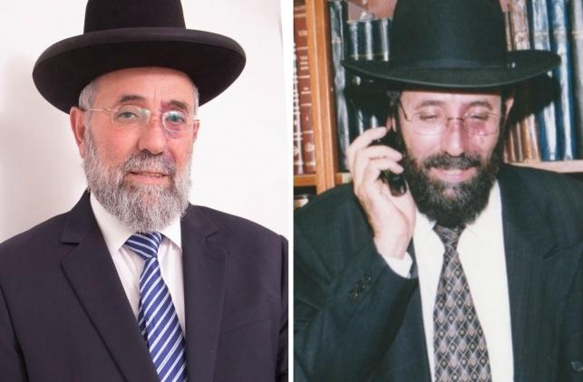 הרב בן עזרא לאחר היבחרו בשנת 2000 והיום