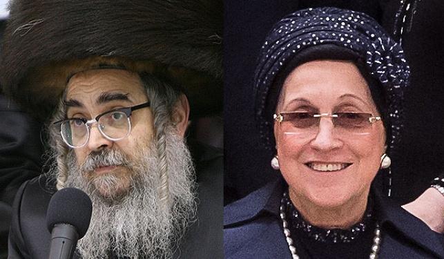 """הרבנית והאדמו""""ר מסאטמר"""