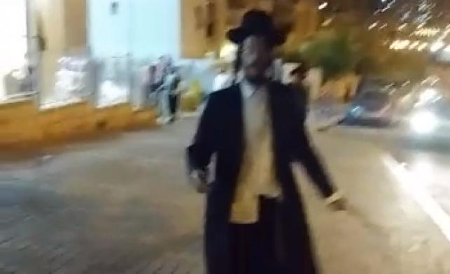 החרדי שתקף נערות ברחוב שוחרר לביתו