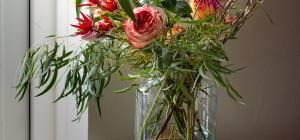 זר פרחים רענן לאורך זמן