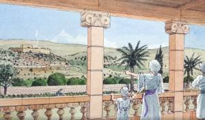 נחשף: אחוזה מלכותית עם נוף לבית מקדש