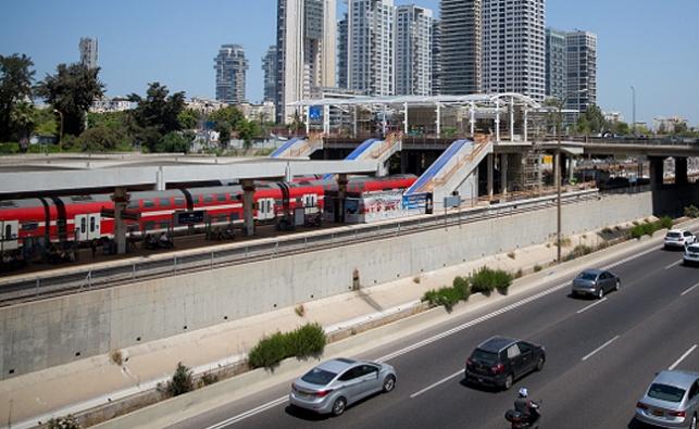 תחנת הרכבת ארלוזורוב בתל אביב