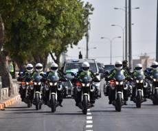 שיירת הנשיא טראמפ בביקורו בישראל - ביקור סגן הנשיא מייק פנס בישראל • הסדרי התנועה