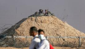 חילופי אש בגבול: מחבל ירה על חיילים ונורה