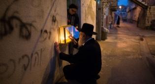 הדלקת הנר השמיני של מאה שערים • תמונות