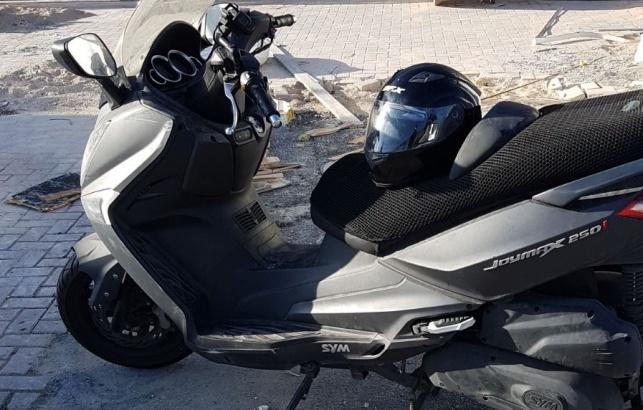 גנב אופנוע בירושלים, ניסה להעבירו ונעצר