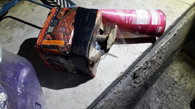 3 מחבלים שירו זיקוקים על בית בי-ם נעצרו