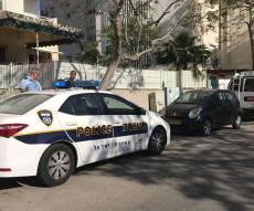 זירת האירוע - אדם שהשתולל ותקף שוטרים, נוטרל - ומת