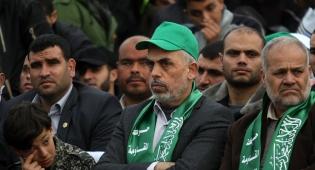 מנהיג חמאס סינוואר מאיים בירי לתל אביב