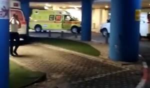 חניון בית החולים איכילוב, אמש