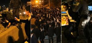 """הפגנת 'הפלג' בב""""ב: עימותים עם שוטרים, 30 עצורים"""