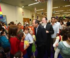 """ראש העירייה ניר ברקת באירוע """"עולים לירושלים"""". אילוסטרציה - תקציב התרבות החרדית - """"לא במחשכים"""""""