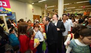 """ראש העירייה ניר ברקת באירוע """"עולים לירושלים"""". אילוסטרציה"""