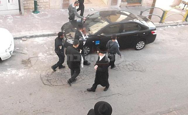 מעצרו הבוקר של אחד החשודים בבני ברק