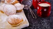 מאפינס חמאת בוטנים עם אבקת סוכר