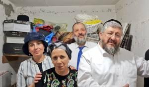 משפחת דרעי במקלט