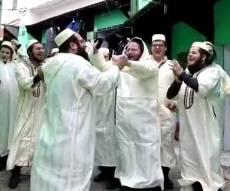 בקסבה בווזאן: הישיבה החסידית חגגה 'סיום'