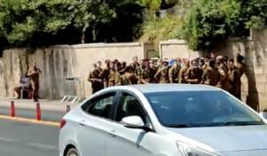 מדהים: החיילים שרו 'ביבי מלך ישראל' • צפו