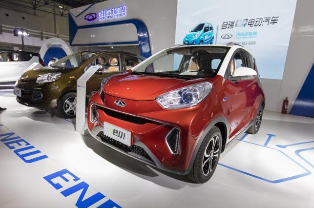 רכב חשמלי בסין