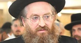 הרבי מקרלין סטולין ביקר פצועים