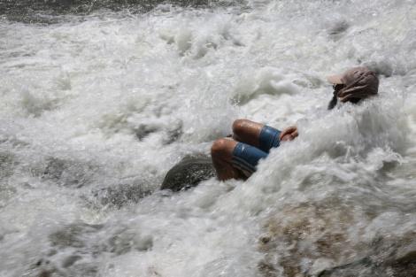 אילוסטרציה - צעיר מבני ברק נפצע מנפילה על סלע בירדן