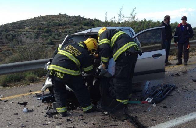 כביש 465: הרוג בתאונת דרכים