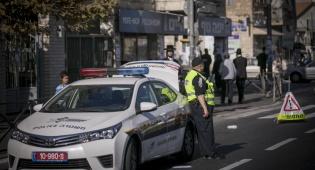 נהג מונית התנגש בניידת משטרה. אילוסטרציה - נהג מונית התנגש בניידת משטרה - המדינה תשלם?