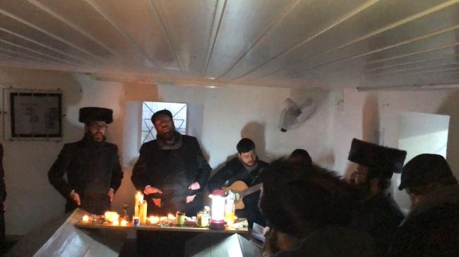 לראשונה: עשרות יהודים שבתו באולבסק