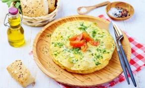טורטייה ספרדית - ארוחת ערב קלילה ומהירה - ארוחת ערב קלילה ומהירה: טורטייה ספרדית