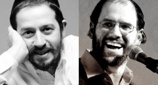 אהרן רזאל ושלומי גרטנר. מובילים - הכי מושמעים השבוע: שלומי גרטנר, רזאל והאניג