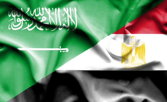 דגלי מצרים וסעודיה