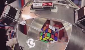 הרובוט שפותר קוביה הונגרית הכי מהר בעולם
