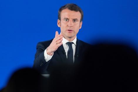 """נשיא צרפת מקרון - פיליפ: """"סוג חדש של אנטישמיות בצרפת"""""""