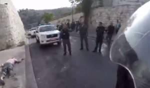 צפו: זירת הפיגוע הבוקר בשער האריות