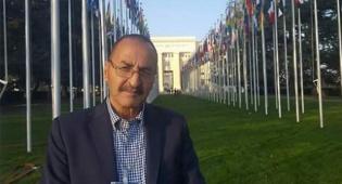 """אבי המחבל באו""""ם - אב המחבל נאם באו""""ם; בן הנרצח כועס מאד"""