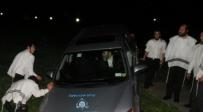 מאמצי החילוץ של המשגיח שדורדר עם רכבו לתעלה