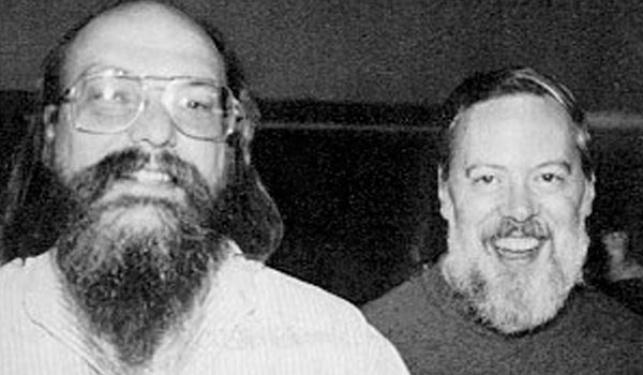 דניס ריצ'י וקן תומפסון, מהעומדים מאחורי פרויקט UNIX