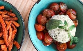 סלסת עגבניות שרי פיקנטית