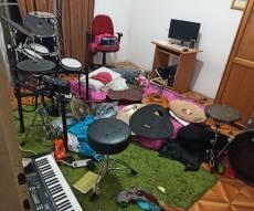 הבלגן בדירה