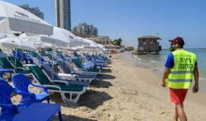 חוף בת ים סגור בשל הקורונה