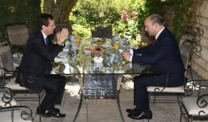 הנשיא הרצוג נפגש עם ראש הממשלה בנט