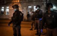 כוחות משטרה שבוע שעבר במאה שערים