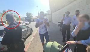 """השוטר אומר: אני נותן לילדה דו""""ח. צפו"""