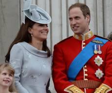 הנסיך וויליאם עם משפחתו