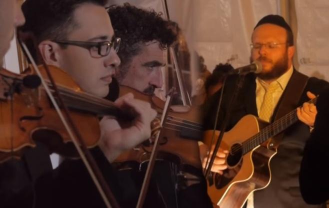 איתן כץ מרגש עם תזמורת ענק: 'לשם ייחוד'
